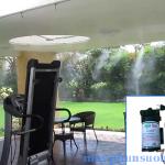 Giới thiệu hệ thống phun sương làm mát quán cafe