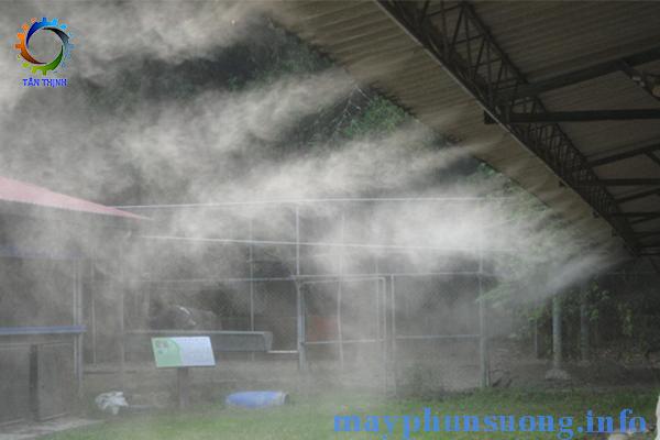 Máy phun sương nhà máy nhà xưởng