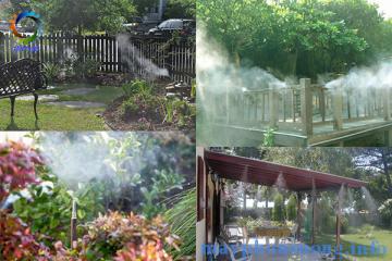 Bạn đã có máy phun sương gia đình hè này?