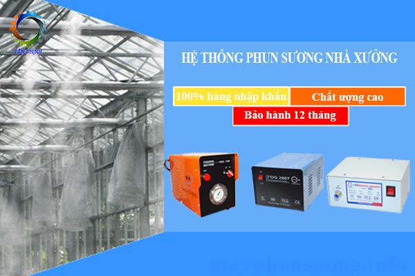 he thong phun suong nha may