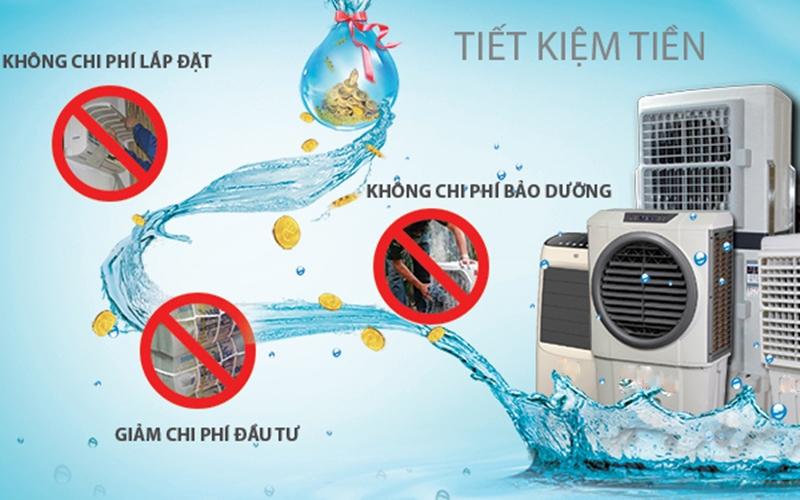 Quạt hơi nước điều hòa không khí